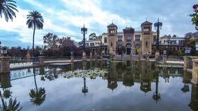Museum van Populaire Kunsten in Sevilla, Spanje stock video