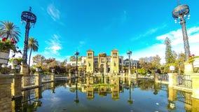 Museum van Populaire Kunsten in Sevilla, Spanje stock videobeelden