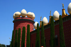 Museum van Salvador Dali in Figueres, Spanje Stock Fotografie