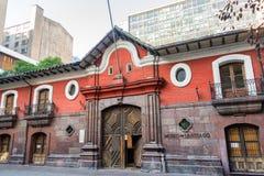 Museum van Santiago stock afbeeldingen