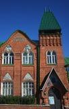 Museum van Volkskunst in Yeletz stock afbeelding