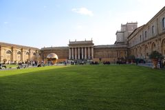 Museum of  Vatican country Rome Italy Royalty Free Stock Photography