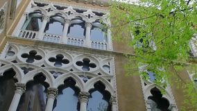 Museum in Venice Palazzo Ducale.  stock video