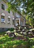 Museum of veterans in Imatra. Finland Royalty Free Stock Image