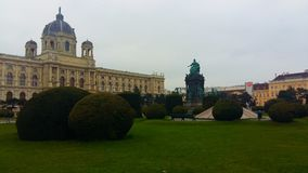 Museum in Vienna royalty free stock image