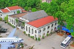 Museum Vietnam för militär historia, Hanoi Vietnam royaltyfri foto