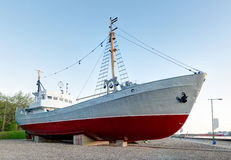 Museum of the vintage vessels. Stock Images