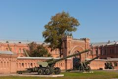 Museum von Artillerie Lizenzfreie Stockbilder