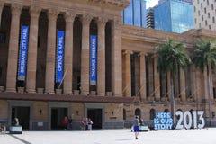 Museum von Brisbane in BrisbaneRathaus, Australien Lizenzfreies Stockbild