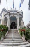 Museum von Cycladic Kunst Athen Stockbilder
