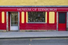 Museum von Edinburgh Lizenzfreies Stockfoto