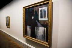 Museum von Edvard Munch in Oslo lizenzfreies stockbild