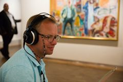 Museum von Edvard Munch in Oslo lizenzfreie stockfotos