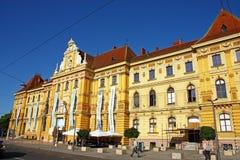 Museum von Künsten und von Handwerk, Zagreb Lizenzfreie Stockfotografie