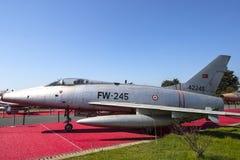 Museum von Luftfahrt in Istanbul stockbilder