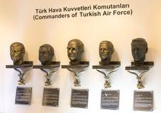 Museum von Luftfahrt in Istanbul stockfotos