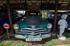 Museum von Retro- Autos: GAZ-M20V Pobeda stockbilder