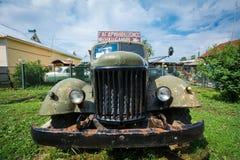 Museum von Retro- Autos: ZIL-164 lizenzfreie stockfotos