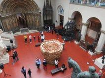 Museum von schönen Künsten in Moskau lizenzfreies stockfoto