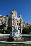 Museum von schönen Künsten in Wien lizenzfreie stockfotografie