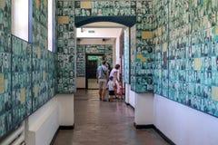 Museum voor communismeslachtoffers in Sighet stock afbeelding