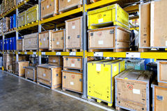 Museum warehouse Stock Image