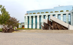 Museum of the Warsaw Uprising. Royalty Free Stock Image
