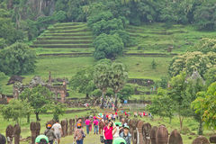 Museum wat phou Royalty Free Stock Photography