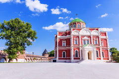 Museum of weapons on the territory of the Tula Kremlin, Russia Royalty Free Stock Photos