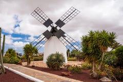 Museum windmill Antigua Fuerteventura, Canary Islands, Spain Stock Photography