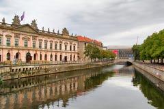 Museumeiland in Berlijn Stock Foto