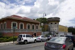 Museumområde av San Jose Costa Rica arkivfoto
