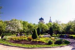 Museumreserv av Kolomenskoe, Moskva, Ryssland, i vår Royaltyfri Fotografi