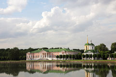 Museums-Landsitz Kuskovo, Moskau stockfotografie