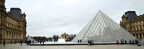 Museums-Louvre stockfoto