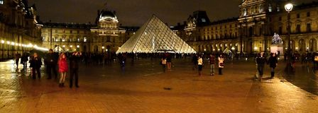 Museums-Louvre Stockfotos