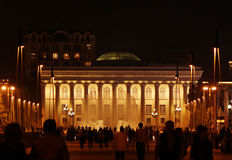 Museums-Mitte in Baku Stockbild