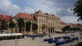 Museums Quarter, Vienna Stock Photography