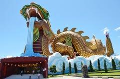 Museums-Showgeschichte des Drachenachkommemuseums moderne und alte chinesische Tradition Stockfoto
