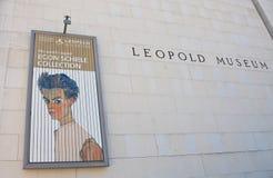 Museums-Viertel Leopold Museum Wien, Österreich Stockbilder