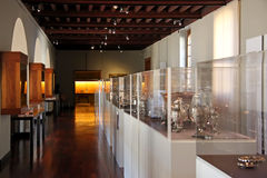 Museumsausstellung Stockfotos