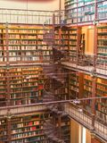 Museumsbibliothek stockfotografie