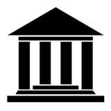 Museumsikone Lizenzfreies Stockfoto