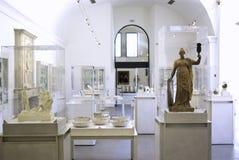 Museumsinnenraum Stockbild