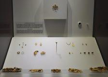 Museumsinnenraum Minoan Archaelogical von Iraklio in Kreta-Insel lizenzfreie stockbilder