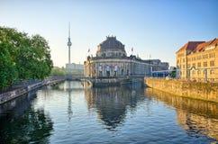 Museumsinsel in Berlin, Deutschland Lizenzfreies Stockbild