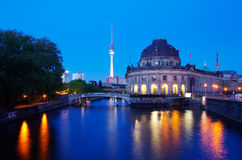Museumsinsel de Berlin Image libre de droits