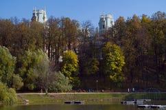 MuseumsNaturreservat Tsaritsyno Lizenzfreies Stockfoto