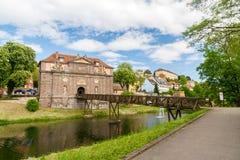 Museumspelz Stadtgeschichte in Breisach, Baden-Wurttemberg, Germa Stockbild