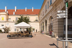 Museumsquartier Area In Vienna stock photo